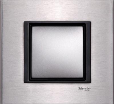Рамка 1 пост. Unica Class серебристый алюминий MGU68.002.7A1
