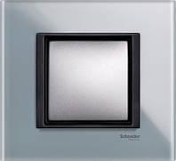 Рамка 1 пост. Unica Class матовое стекло MGU68.002.7C3, фото 1