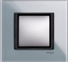 Рамка 1 пост. Unica Class матовое стекло MGU68.002.7C3