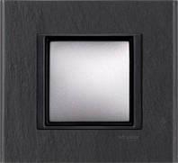 Рамка 1 пост. Unica Class чёрный камень MGU68.002.7Z1, фото 1
