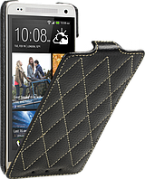 Чехол для HTC One mini M4 - Vetti Craft flip Diamond Series, черный