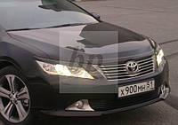 Реснички передних фар Toyota Camry xv50 (2011-...) (Тойота Камри 50 кузов 2011г+)