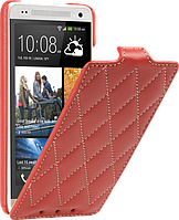 Чехол для HTC One mini M4 - Vetti Craft flip Diamond Series, красный