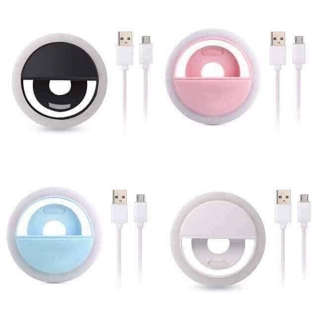Селфи-лампа Led кольцо на телефон RK12, фото 1