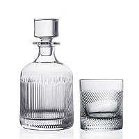 "Набор бокалов для виски "" TOUCH "" Style Prestige / 3 пр / ( графин + 2 стакана )"