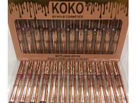 Набор Помад В Стиле Kylie KOKO Cosmetics 12 Шт В Упаковке