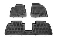 Коврики в салон LEXUS RX 09.04-12.08 черные, полиуретановые (Rezaw-Plast, 202401) - комплект (3 шт.)