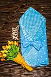 Конверт-одеяло  осень-весна 100х80 см Минки, фото 9