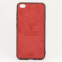 Чехол Deer для Xiaomi Redmi GO бампер накладка Красный, фото 1