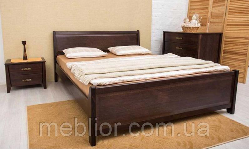 Двуспальная кровать City с филенкой