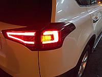 Задние LED фонари HS для Toyota Rav4 2014