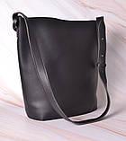 Женская сумка-тоут через плечо с кошельком Neko black, фото 4