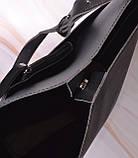 Женская сумка-тоут через плечо с кошельком Neko black, фото 10