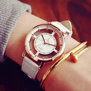 Наручний годинник прозорі white Liner
