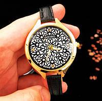 Женские наручные часы с тонким ремешком Meibo black