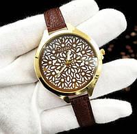 Женские наручные часы с тонким ремешком Meibo brown