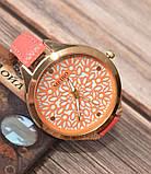 Жіночі наручні годинники з тонким ремінцем Meibo pink, фото 3