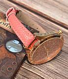 Жіночі наручні годинники з тонким ремінцем Meibo pink, фото 4