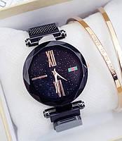 Женские наручные часы Starry Sky Watch на магнитной застежке black