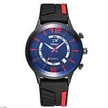 Мужские наручные часы Ringo black-red, фото 4