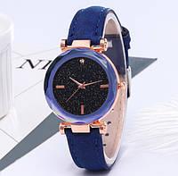 Трендовые наручные часы Starry Sky Watch blue