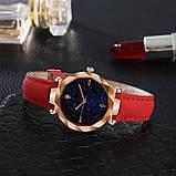 Трендові наручний годинник Starry Sky Watch red, фото 2