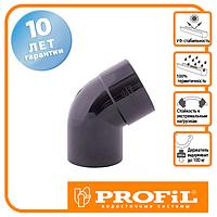 Коліно Profil 100 графітове