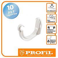 Держак ринви Profil пласт. 130 білий