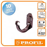 Держак ринви Profil пласт. 130 коричневий