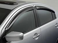 Ветровики дефлекторы передние задние Mitsubishi Galant 2004-12 новые оригинал