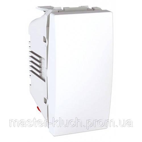 Выключатель маршевый 1кл, 1мод Unica