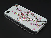 Чехол TPU Diamond для Apple iPhone 4 4s Сакура