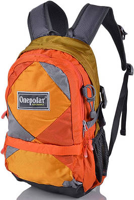 Яркий детский рюкзак Onepolar W1590-orange 20 л