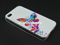 Чехол TPU Diamond для Apple iPhone 4 4s Бабочка