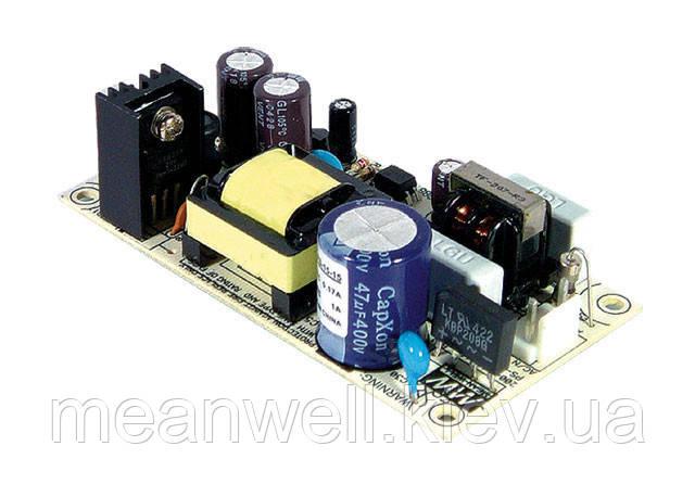 PS-15-24 Блок живлення Mean Well Відкритого типу 15 Вт, 24 В, 0.625 А (AC/DC Перетворювач)