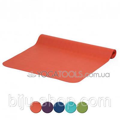 Коврик для йоги ECOPRO DIAMOND, каучук, BODHI, Германия, 185x61cm, 6mm