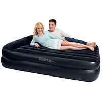 Надувная кровать (диван) с насосом 220V двухспальная Bestway 67345
