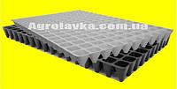 Кассеты для рассады 160 ячеек, Польша, размер 40х60см, толщина стенки 0,55мм, фото 1