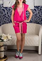 Модный женский короткий комбинезон, до 50 размера