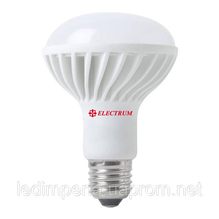 Лампа светодиодная R80 LR-20 10W E27 2700K алюмопласт. корп.
