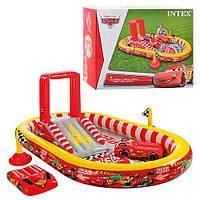 Игровой центр Дисней, Тачки, с горкой, душем.INTEX