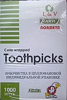 Зубочистки в индивидуальной ПЭТ упаковке