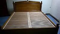 Кровать из массива ольхи 1800*2000