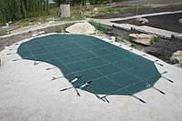 Тентовое накрытие на бассейн Шилд