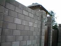 Строительство  ЖБ заборов из плит и блоков
