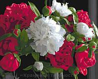 Картина по номерам 40x50 Роскошные пионы (КНО3051), фото 1