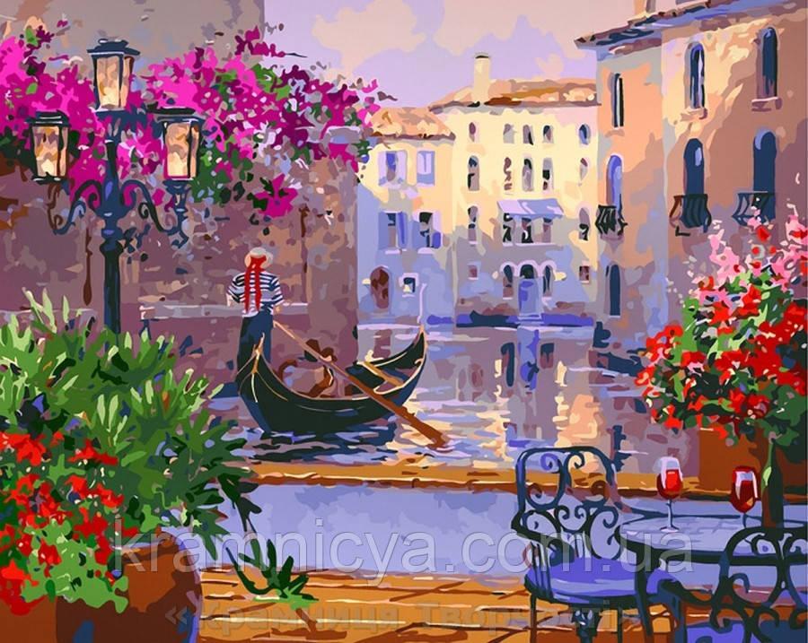 Картина по номерам 40x50 Чарующая Венеция (КНО3559)