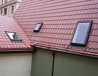 Мансардное окно Велюкс (VELUX) Эконом с нижней ручкой открывания 94x140