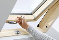 Мансардное окно Велюкс (VELUX) Эконом с нижней ручкой открывания 78x140