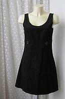 Платье женское сарафан микровельвет мини бренд Street One р.44, фото 1